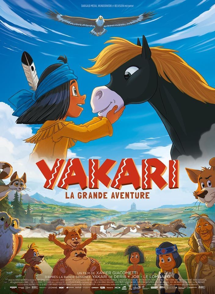 Yakari - La Grande Aventure - Long-métrage d'animation (2020) streaming VF gratuit complet