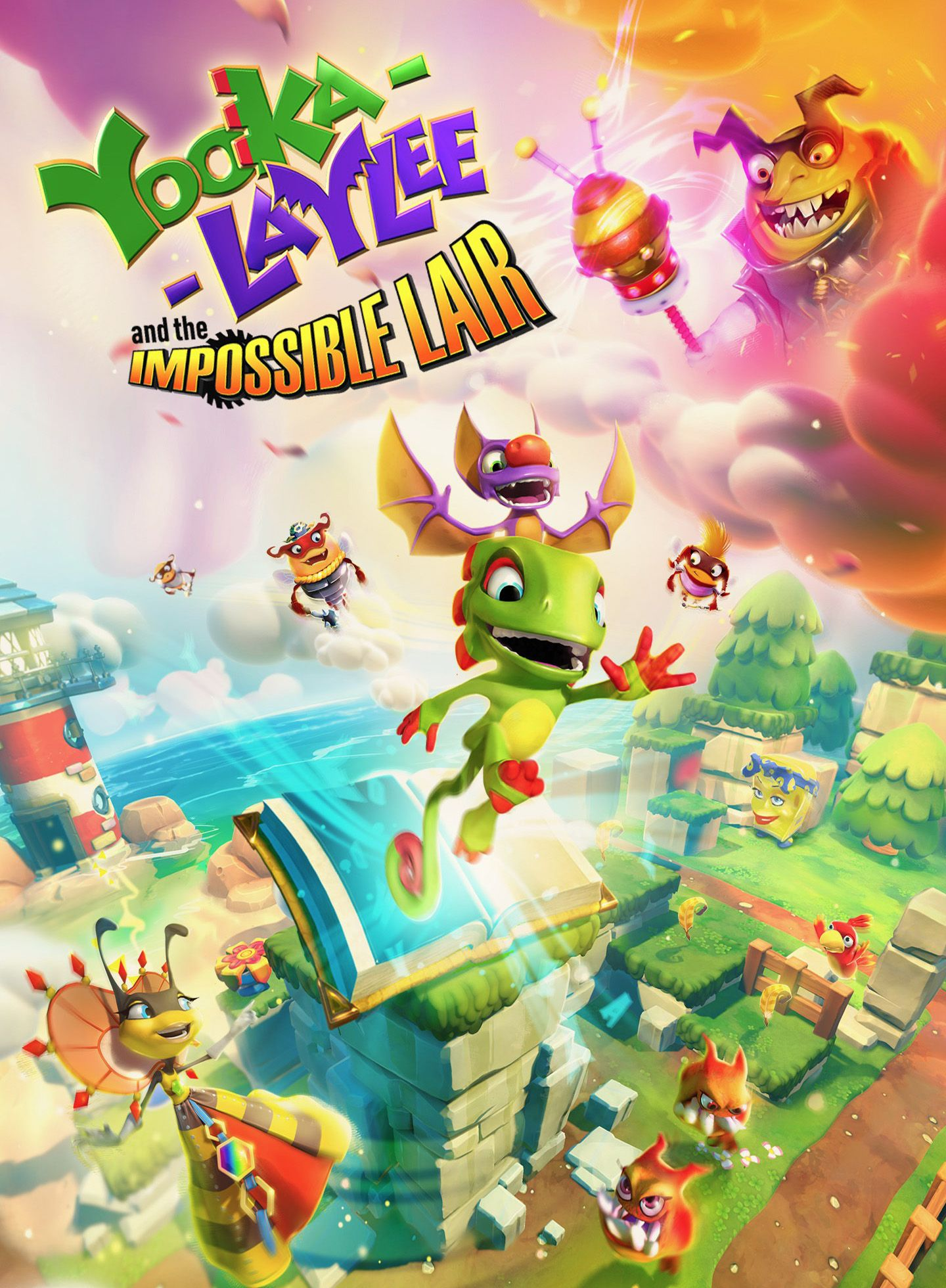 Yooka-Laylee and the Impossible Lair (2019)  - Jeu vidéo streaming VF gratuit complet