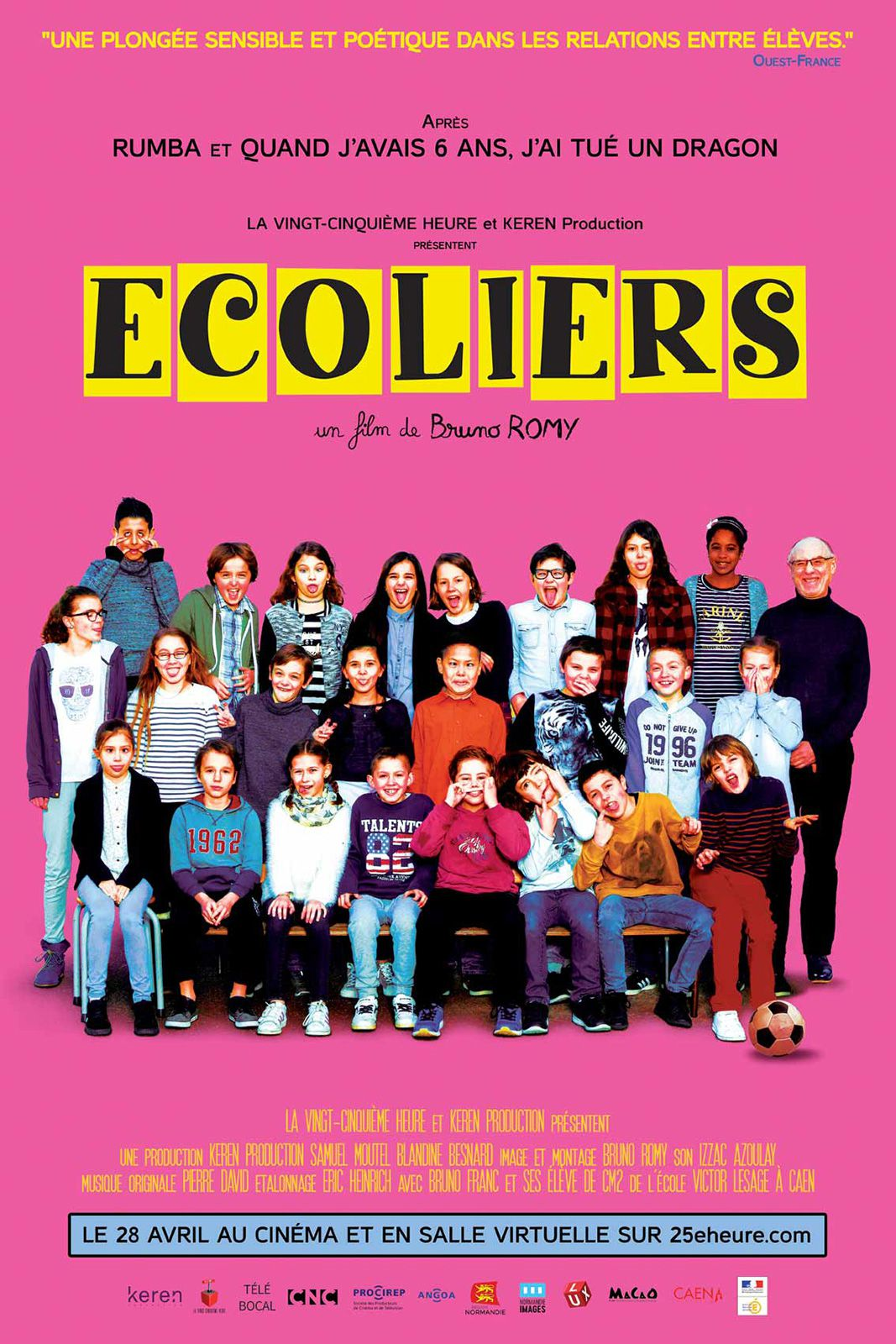 Écoliers - Documentaire (2021) streaming VF gratuit complet